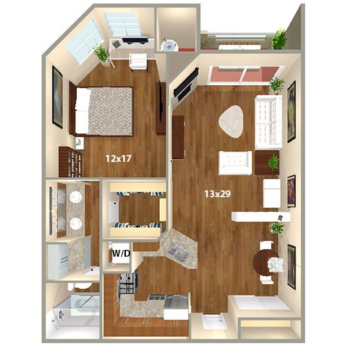 Aimco Apartments: 1 Bedroom Apartments In Los Angeles California
